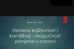 Pedagoški fakultet u saradnji sa Pedagoškim zavodom USK održao seminar za nastavnike bosanskog jezika i književnosti