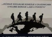 Jačanje socijalne kohezije u zajednicama u kojima borave ljudi u pokretu (Ljudi u pokretu: kulturološke različitosti i praktične primjene).